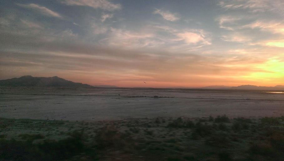 celia-amtrak-california-zephyr-sunrise-great-salt-lake