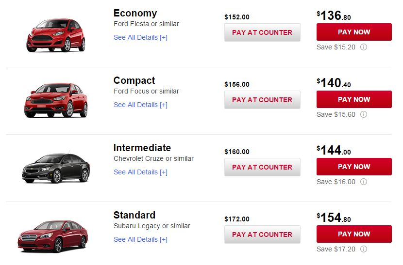 Why Youre Foolish To Rent A Standard Car Points With A Crew