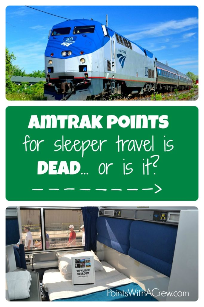 Is using Amtrak points for sleeper car travel completely DEAD? Or are there still actually some options?