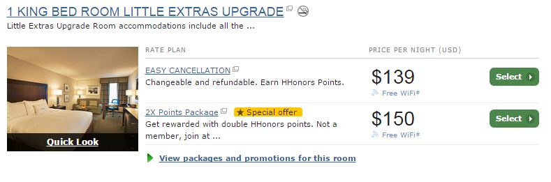 hilton-doubletree-little-extras-upgrade-booking