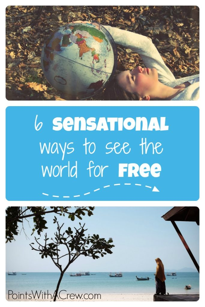 Here are 6 ways to see the world (for free) if you are looking to travel to Europe or other places on your bucket list