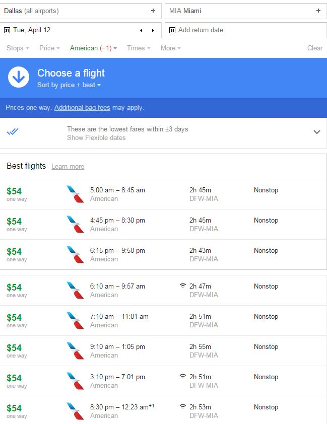 dallas-miami-flight-deal