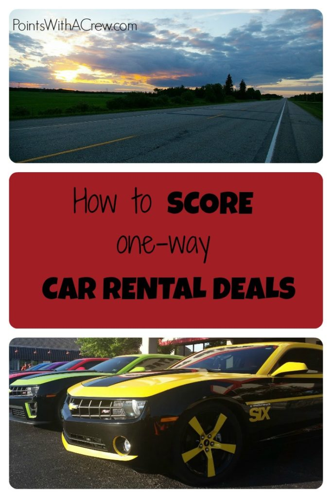 Top tips on how to save money and get cheap one way car rental deals for road trips and other travel!