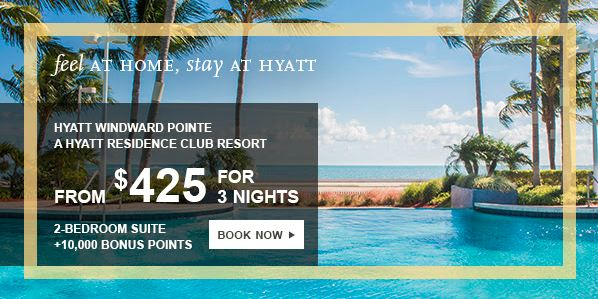 $425 for a 3 night stay AND 10,000 Hyatt points – worth it?
