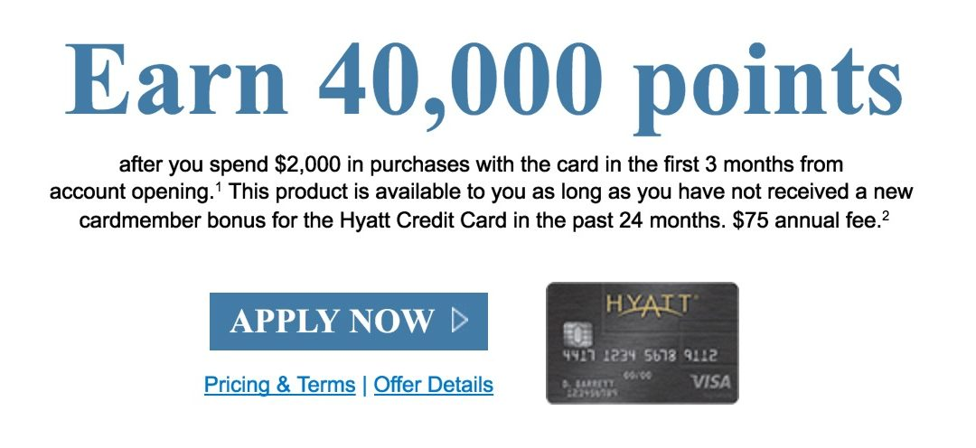 Comparing the 2 Hyatt credit card offers – which one is better?