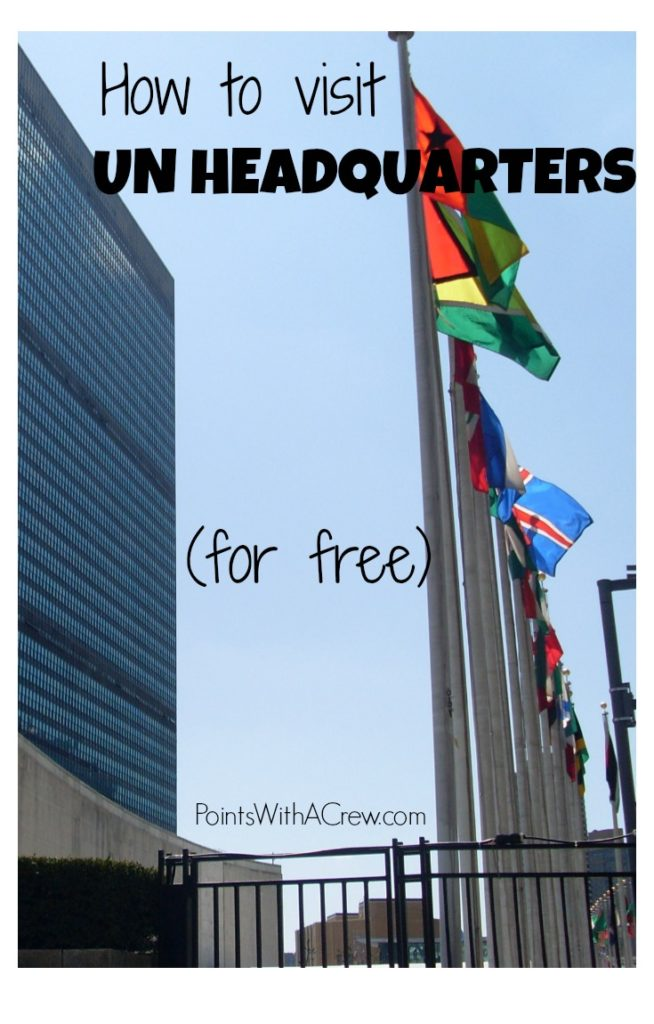Here are 3 tricks to visit the United Nations Headquarters building in New York City.  Before you leave NYC, make sure to...