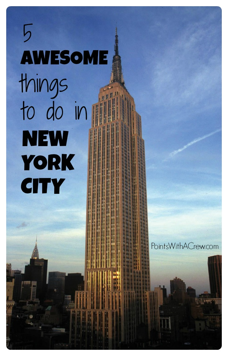 5 awesome things to do in new york city points with a crew for Things to do in new york in winter
