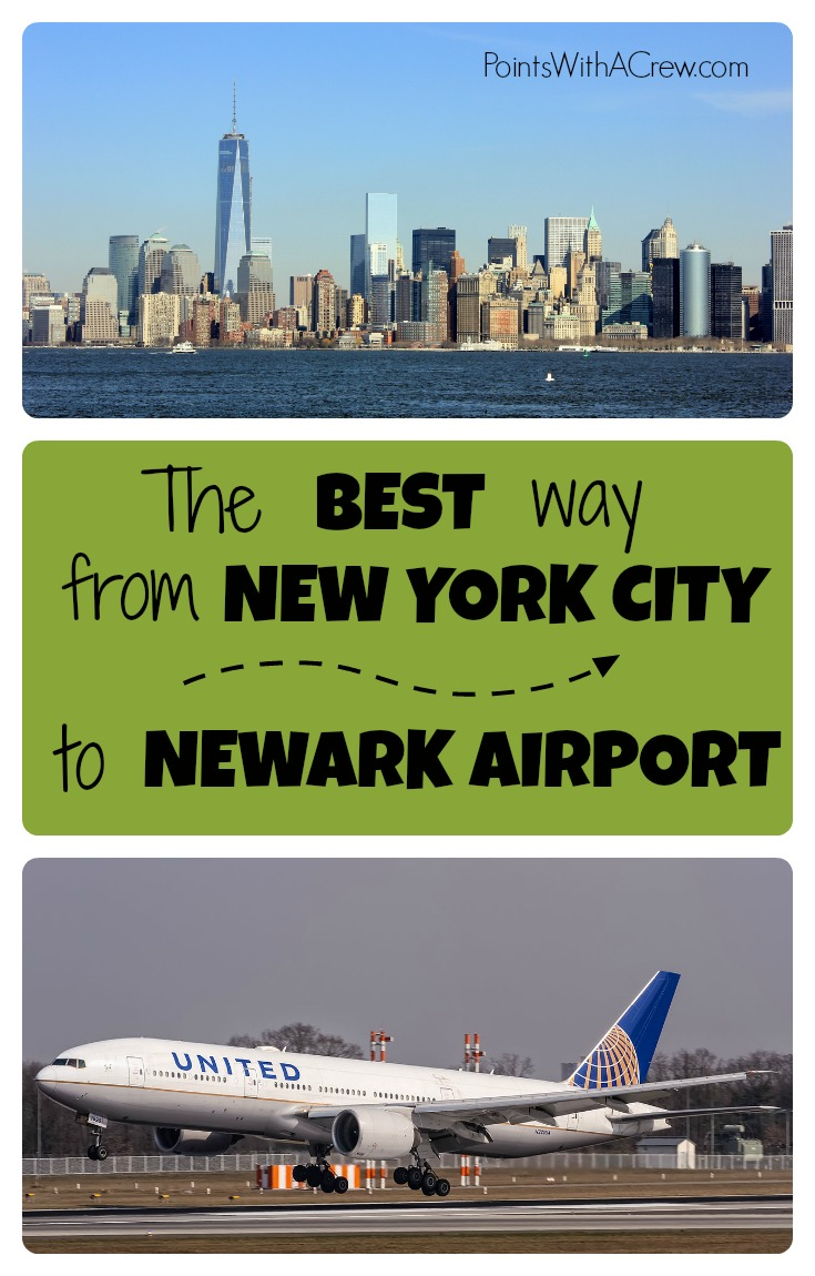 Car Rental Manhattan >> The cheapest and best way to get from Manhattan to Newark airport - Points with a Crew
