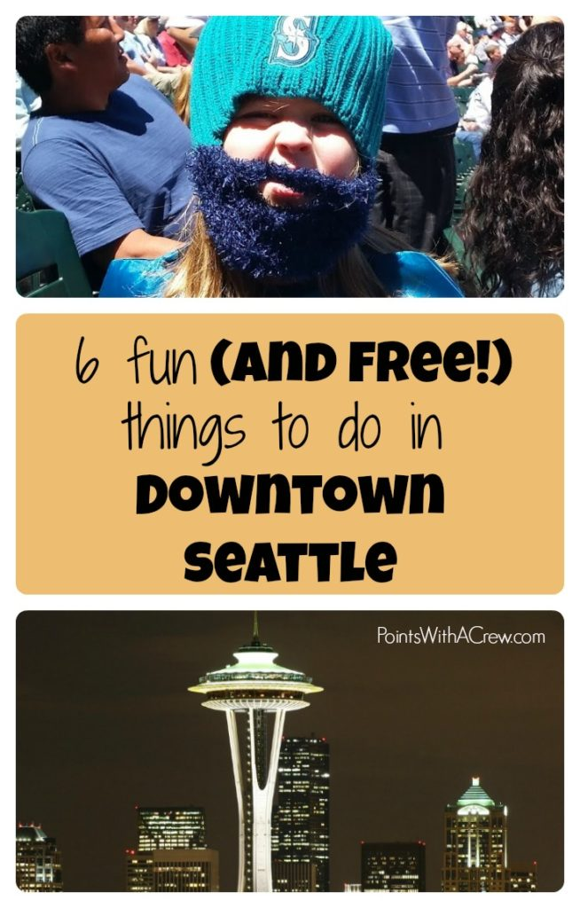 Here are 6 fun (and sometimes free!) things to do in Downtown Seattle Washington. This guide to food, activities, hotels and can help you plan travel for kids and family