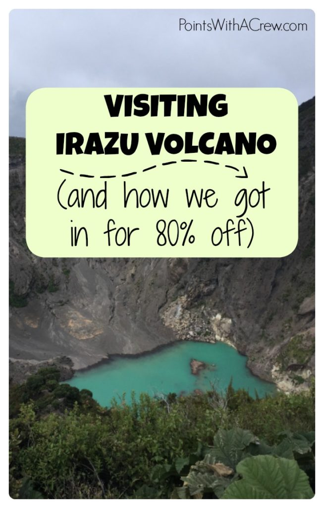 3 tips on traveling the roads to beautiful Irazu Volcano Park in Costa Rica.  It's like Crater Lake but ...