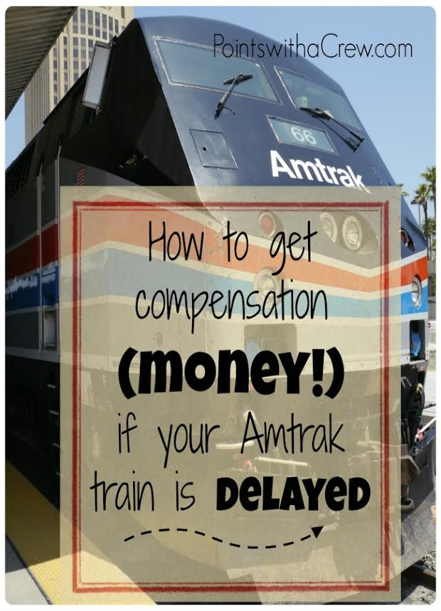 Doing some Amtrak train travel?  When our Amtrak sleeper trip was delayed, we got over ELEVEN HUNDRED DOLLARS in compensation!