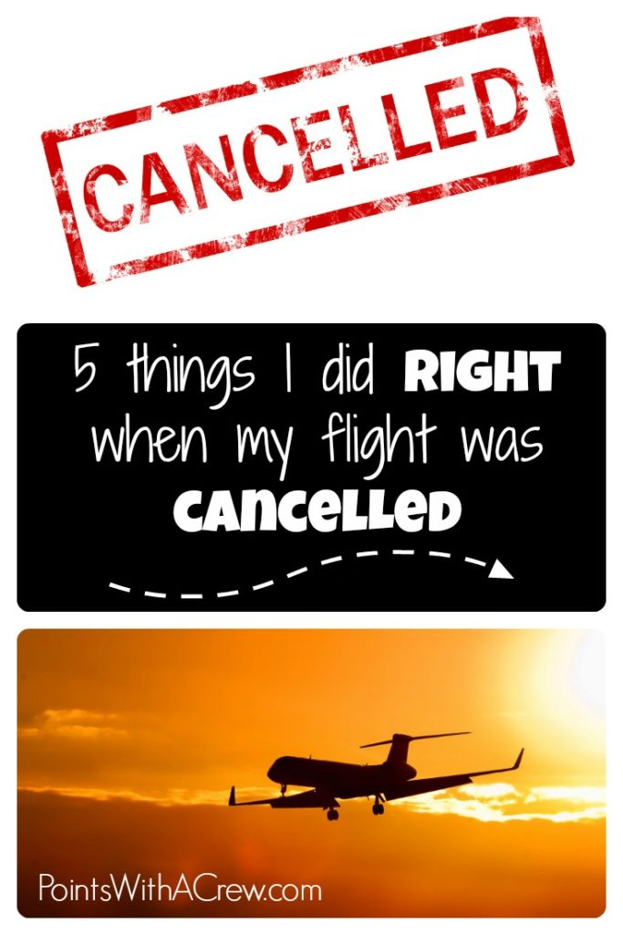 If your flight is canceled, you need to be ready to spring into action - here are 5 things I did right when my flight was canceled