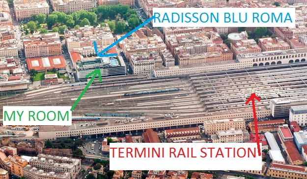 radisson-blu-rome-location-map