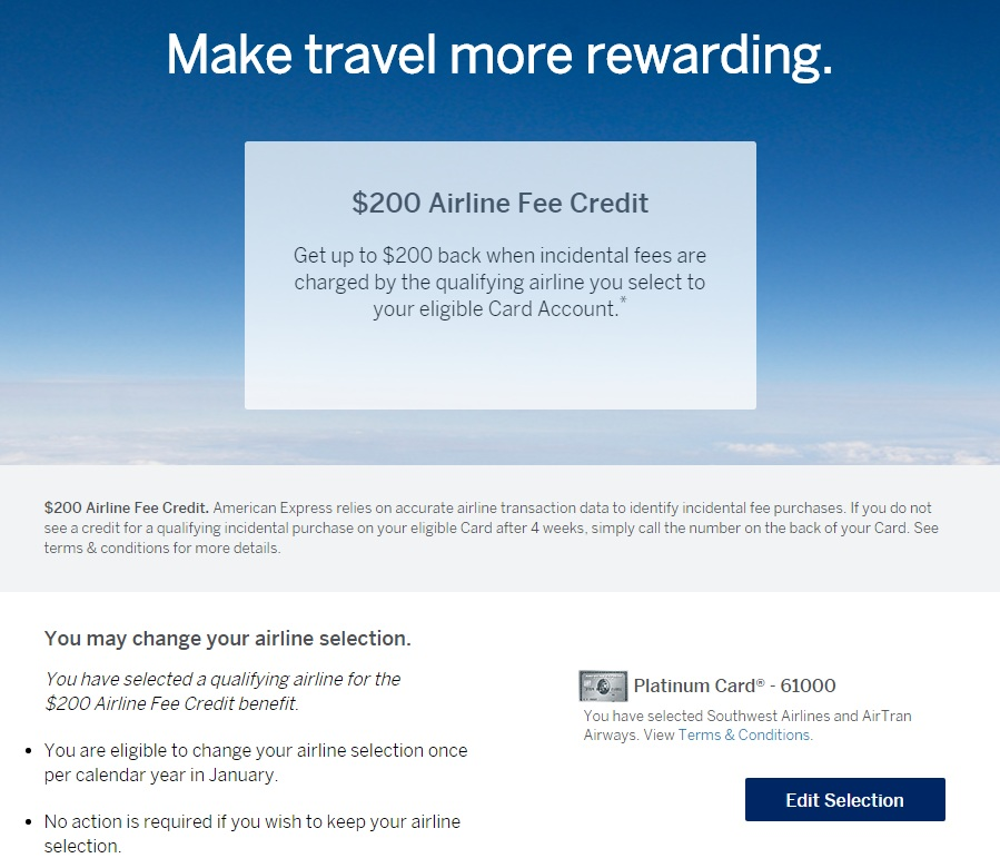 amex-platinum-200-airline-credit-make-selection