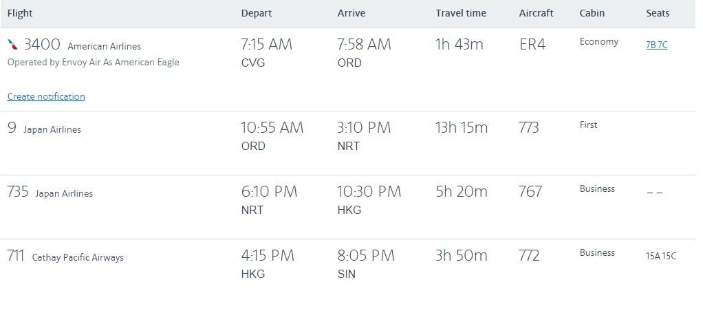 rtw-first-class-itinerary