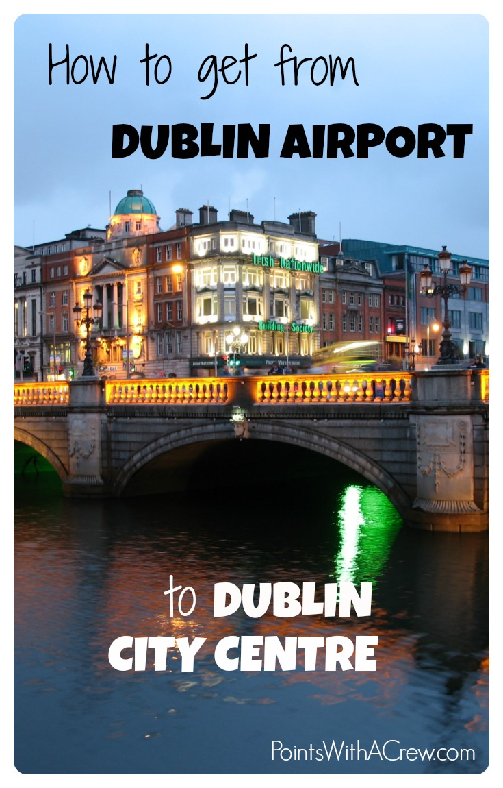 Travel From Dublin City Center To Dublin Airport