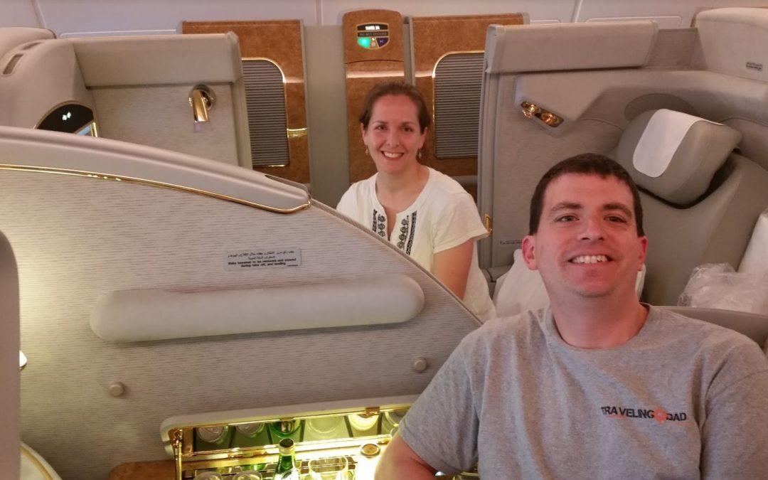 Emirates A380 first class review Dubai to New York