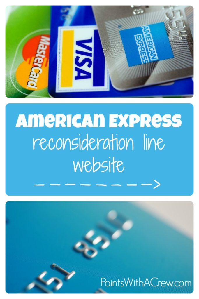 Comprehensive list of American Express reconsideration line phone numbers and website