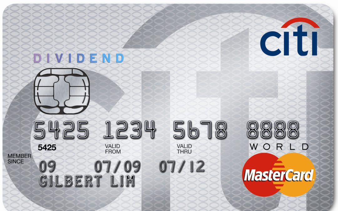 Earn 5% Cashback on your New Year's Resolution with the Citi Dividend in 2020!