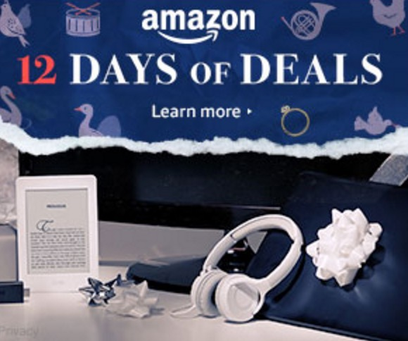 Amazon 12 days of deals 2018 Day 1