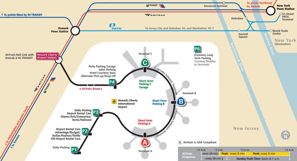 newark-airport-manhattan-airtrain-map