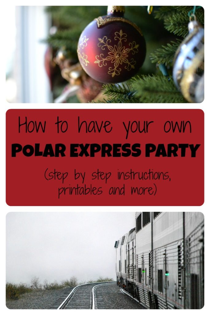 picture regarding Free Printable Polar Express Tickets called How in direction of establish your personal Polar Categorical Celebration (with phase by way of
