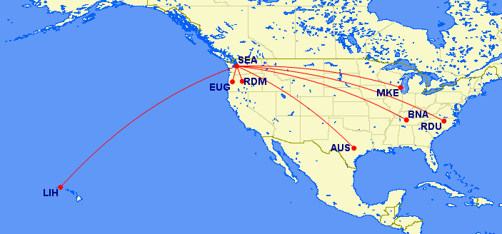 new delta routes