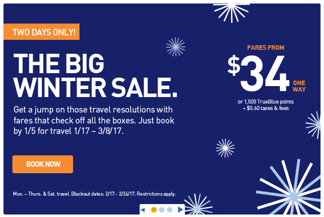 jetBlue Fare Overview