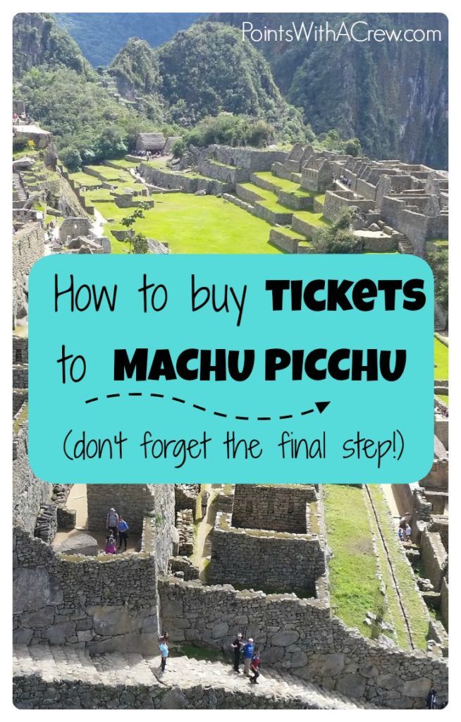 If you're doing travel in Cuzco, the Sacred Valley and Machu Picchu Peru here is a step by step guide on how to buy tickets