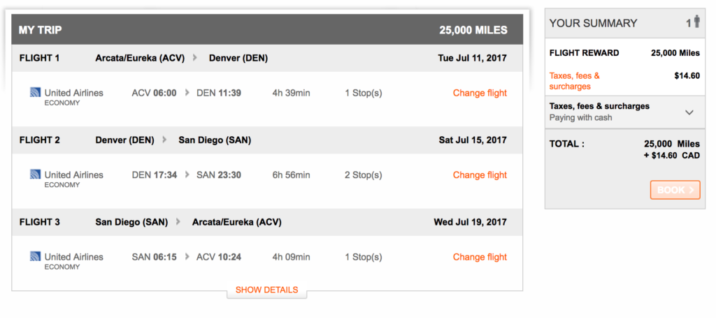 Best uses of Aeroplan miles
