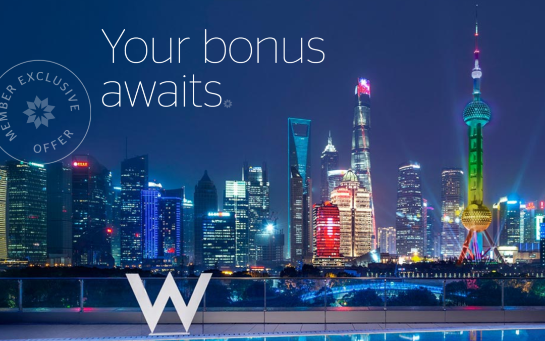 2 tricks to save even more when you buy SPG points at 35% discount
