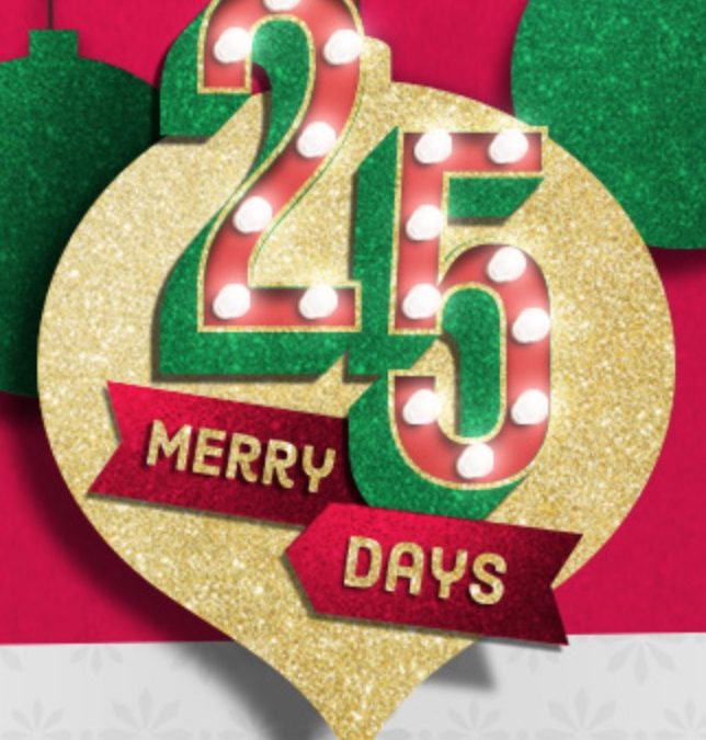 Sign up for Kroger's 25 Merry Days (gift card reselling opportunities)