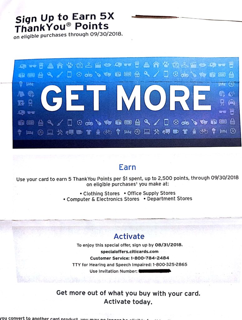 Citicards Pay Bill >> Earn 5x Citi ThankYou Points (Targeted) - Points with a Crew