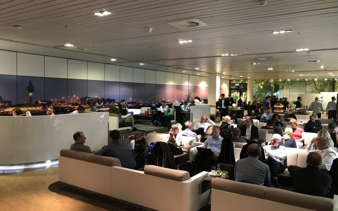 REVIEW: Aspire Lounge Schiphol Airport Amsterdam