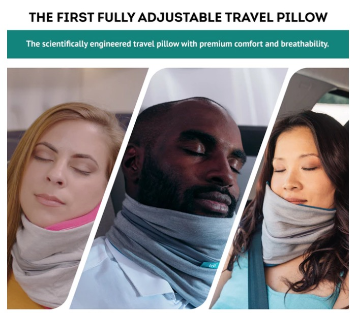 Kickstarter Trtl Pillow Plus – The First Fully Adjustable Travel Pillow