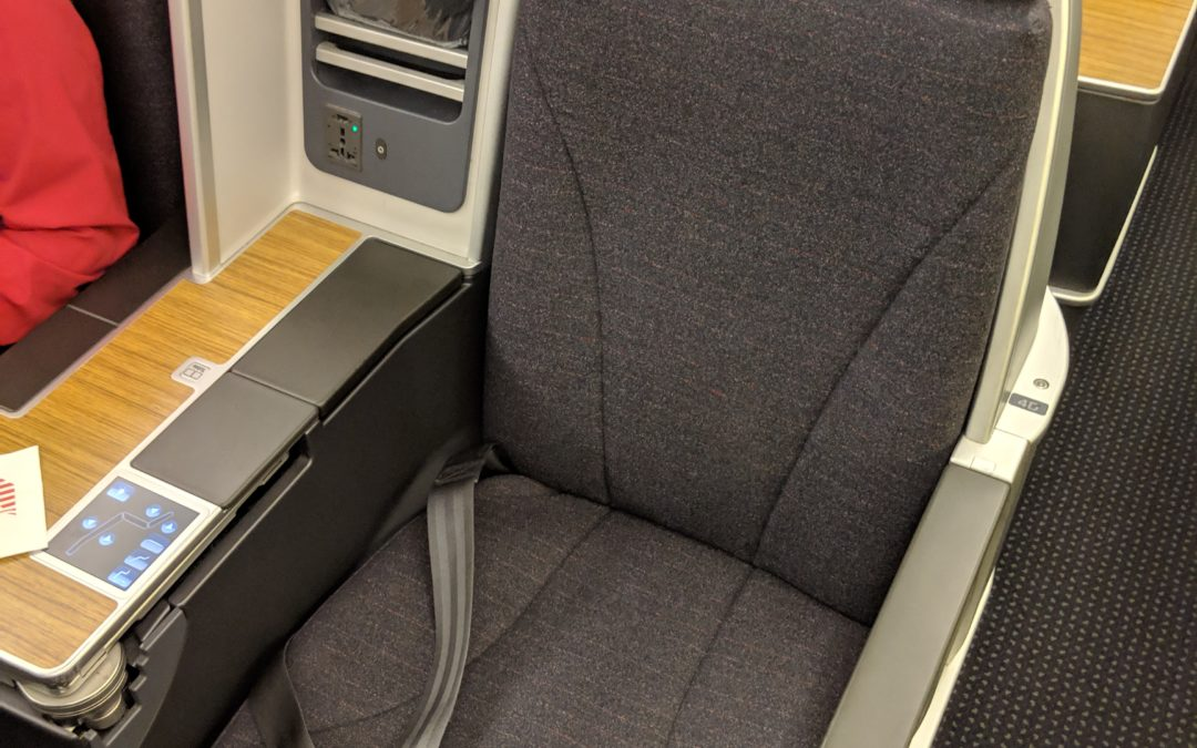 American Airlines Business Class Review – An Oldie But Goodie!