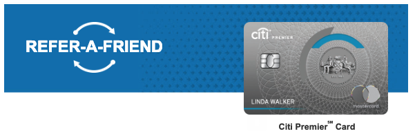 Targeted: Earn 10,000 ThankYou Points with Citi Premier Refer-a-friend