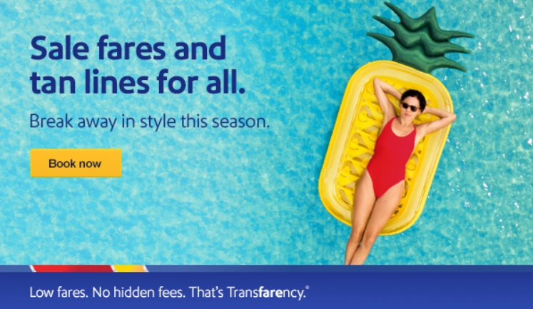 Southwest Back to the Beach: $44+One-Way Summer & Fall