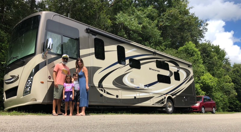 This Family Traveled the U.S. in an RV Full Time During the Pandemic